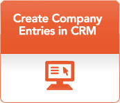 Create Company Entries in CRM