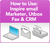 How to use: inspire email marketer