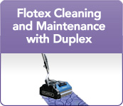Flotex Cleaning and Maintenance with Duplex