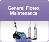General Flotex maintenance